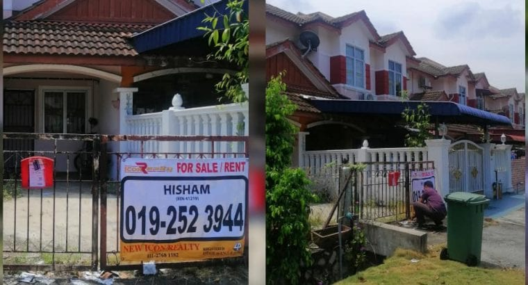 For Sales 2 Storey Terrace House