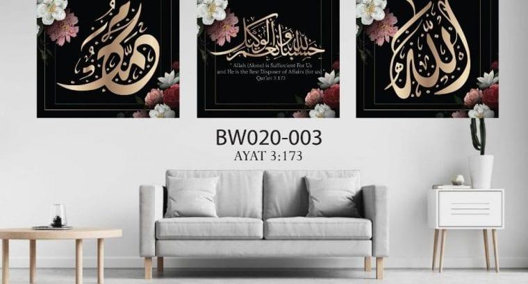 Edisi Khas Raya 2021 3 Frame hanya RM85 shj
