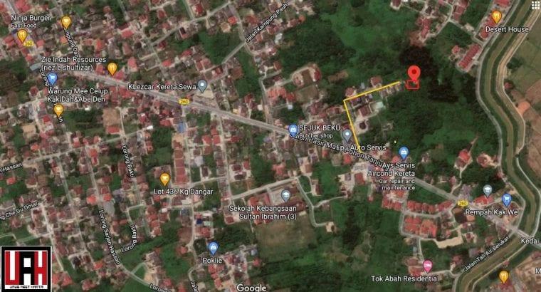 Lot banglo Kg Dangar Pasir Mas untuk dijual