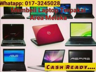 Membeli Laptop Terpakai Area Melaka/ Muar / Tampin