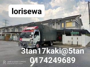 Servis lori 24 jam Nak pindahrumah ke semenanjung malaysia..