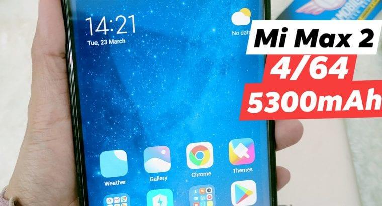 Phone bajet Mi Max 2