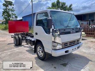5 Ton Unregistered Isuzu NPR71 4.6 TURBO with Tailgate (FUEL PUMP) For Sell