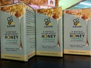 B-Royale Rainforest Honey + Propolis
