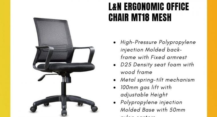 L&N Ergonomic Office Chair MT18 Mesh