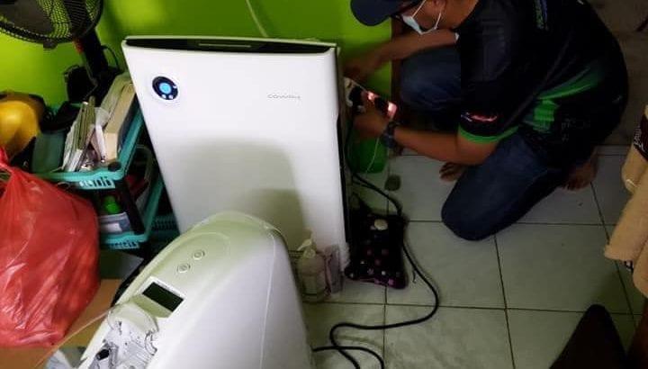 OKSIGEN BANTU PESAKIT PARU2 BERAIR & MASALAH JANTUNG