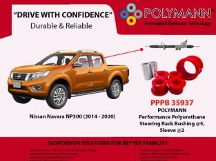 Polymann Performance Polyurethane Bushings Kit