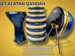SET ALATAN QASIDAH HADRAH HADROH HABIB SYECH