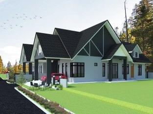 Cadangan pembinaan 2 unit rumah berkembar setingkat utk dijual