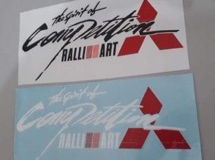 Sticker Bonet Kereta