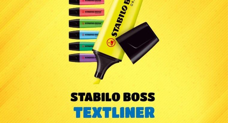 STABILO BOSS TEXTLINER