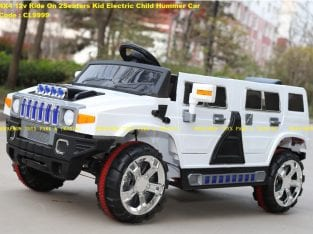 4X4 12v Ride On 2Seaters Kid Electric Child Hummer Car