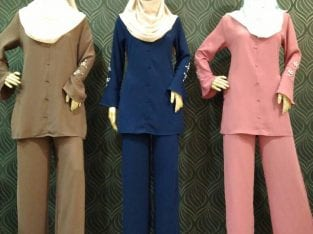BLOUSE & PANTS FASHION (SET)