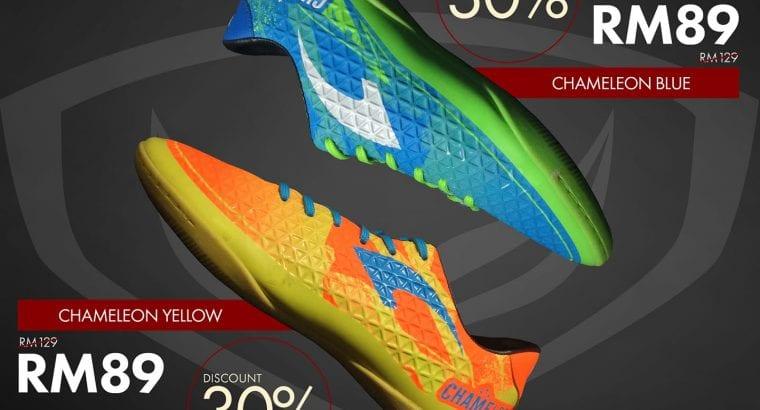 Kasut Futsal GrandSport Chameleon