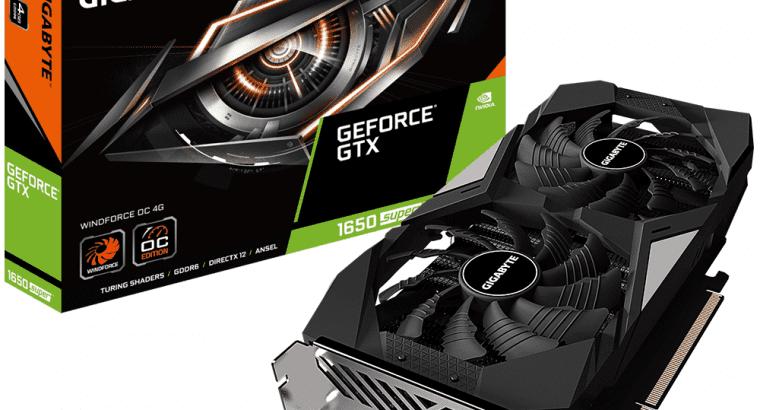 Gigabyte Geforce GTX 1650 Super 4GB GDDR6 Windforce OC