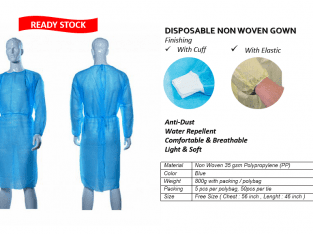 DISPOSABLE NON WOVEN PPE