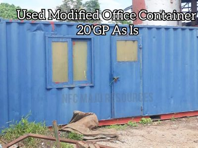 USED MODIFIED OFFICE CONTAINER 20'GP AS IS